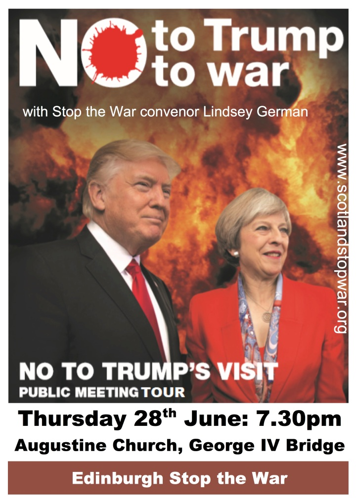 No to Trump public meeting