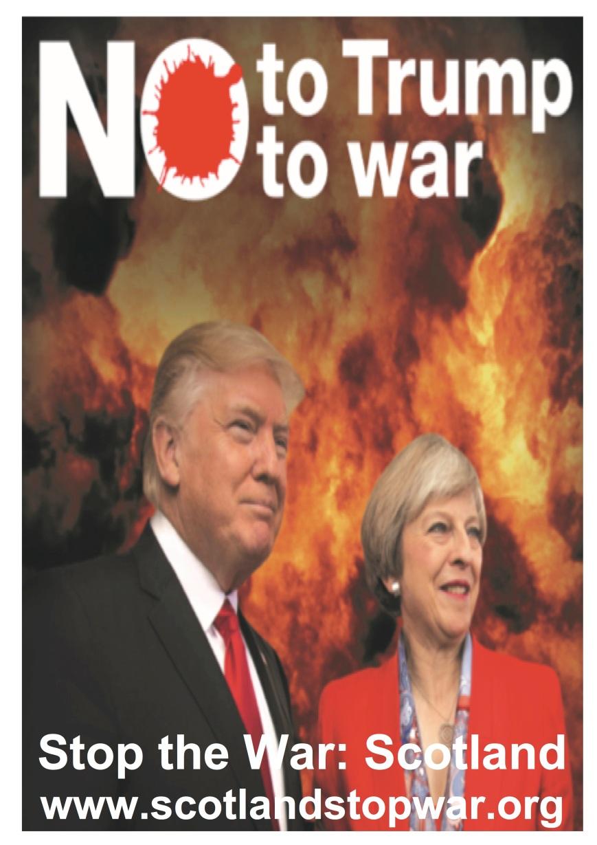 Trump May poster