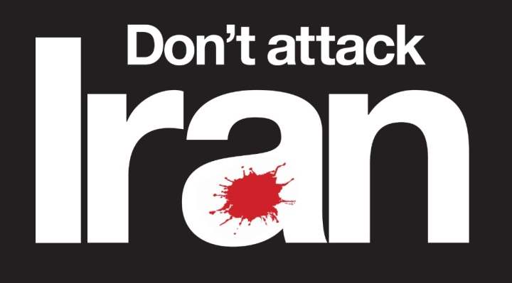 dont attack iran graphic