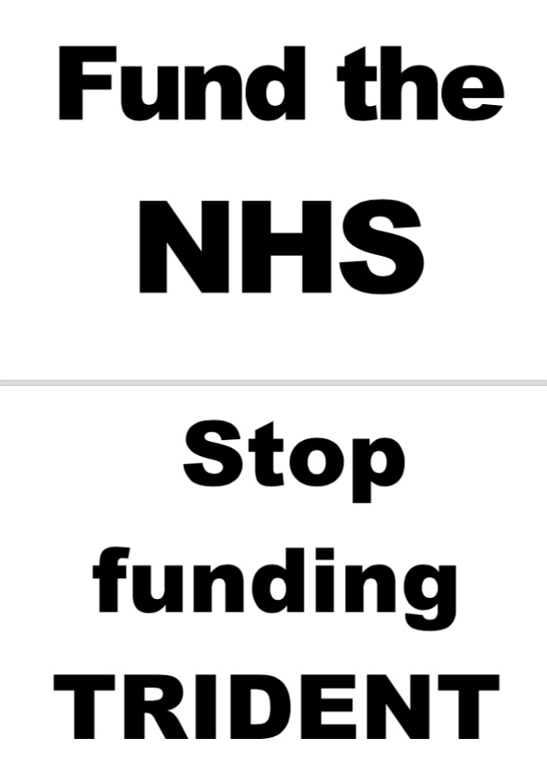 NHS TRIDENT POSTER